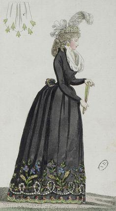 1793 (18th Century Fashion Plate)