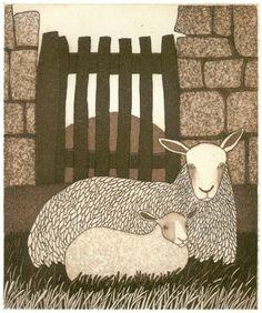 The Little Gate  - Bill Yardley, etching
