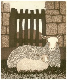 The Little Gate  - Bill Yardley, etching
