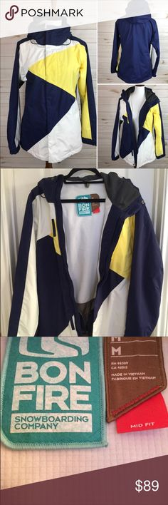 Bon Fire Snowboarding Jacket Only worn Once!  Bon Fire Snowboarding Jacket - In great condition, very comfortable and warm. Bon Fire Jackets & Coats