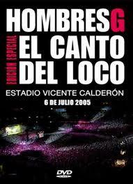 Hombres G en el Calderón DVD
