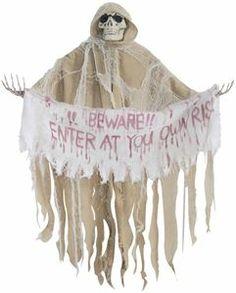 Posable Reaper Prop 36in - 236008 | trendyhalloween.com #halloween #halloweendecorations #halloweenprops #reaper #reaperprops