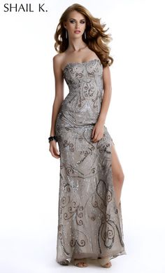 """Shail K. 3336 """"Beautiful #ShailK. #gown perfect for #prom or #nightout. Comes in multiple colors. #dress #cocktail #beautiful #evening #spring #ballgown #2014"""""""