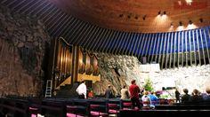 Хельсинки – церковь в скале Темппелиаукио /Temppeliaukion kirkko/