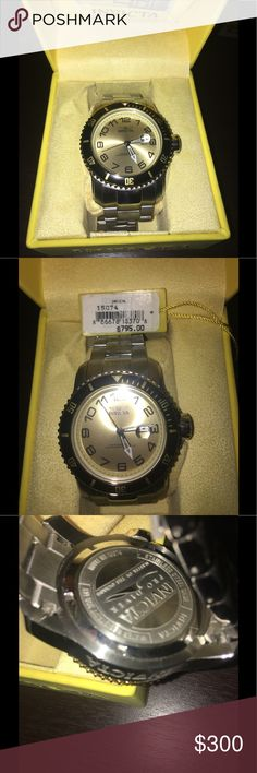 🆕 Invicta Men's Watch 15074 Brand New Invicta Men's Watch. Model 15074. No Discounts on this Item! No Trades/No PayPal. Please ask questions. Invicta Accessories Watches