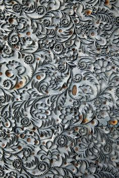 grey floral and vine texture Textures Patterns, Color Patterns, Touch Of Gray, Texture Art, Texture Walls, Fifty Shades Of Grey, Beautiful Patterns, Surface Design, Color Inspiration