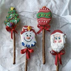 Cookie Pops - Pretzel Recipes curated by SavingStar. Save money on your groceries with eCoupons at savingstar.com