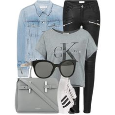 A fashion look from January 2017 featuring Calvin Klein t-shirts, rag & bone jackets and adidas sneakers. Browse and shop related looks.