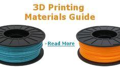 3D Printer Filament Comparison Guide Printing Supplies, 3d Printing Materials, 3d Printer Filament, Guided Reading, Prints, Printmaking