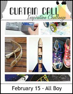 Curtain Call: Curtain Call Inspiration Challenge - All Boy