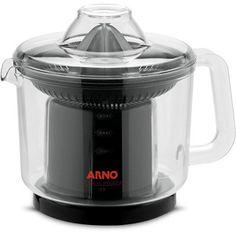 Espremedor Arno Citrus Power Transparente e Preto 70W de Potência 1 Velocidade 1,25L.
