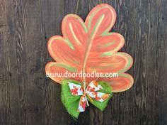 Oak leaf with metallic gold and sage green accents fall door decoration hanger hanging wreath front door sign wood wooden Front Door Signs, Wreaths For Front Door, Fall Door Hangers, Fall Door Decorations, Green Accents, Metallic Gold, Fall Crafts, Wood Crafts, Wood Signs