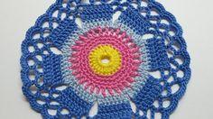 Make a Cute Crocheted Cornflower Doily - DIY Crafts - Guidecentral