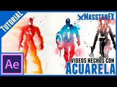 Videos Con Efecto De Acuarelas || After Effects Tutorial - YouTube