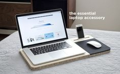 Conveniently Convertible Mobile Desks - The Slate Mobile AirDesk is Designed for Comfort (GALLERY)