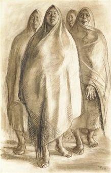 Cuatro mujeres By Francisco Zuñiga