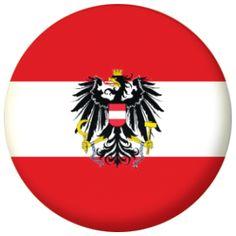 Austria Eagle Country Flag