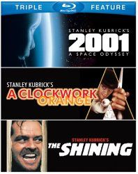 2001: A Space Odyssey / A Clockwork Orange / The Shining [Blu-ray]. Available from Cybertech Movies & Videos at CyberTechVideos.com