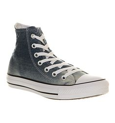 Converse Converse All Star Hi Faded Ombre Denim Exclusive - Unisex Sports