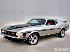 1971 Ford Mustang Mach 1. ●○●○♥  Sometimes it all just Comes Together RIGHT !!!