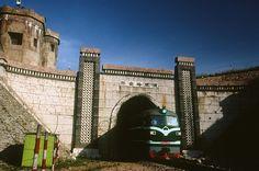 The Greater Khingan Ridge Tunnel on the Harbin-Manzhouli Railway, built in 1904.