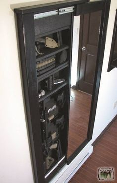 awesome way to keep things neat and out of sight, especially your tactical gear ;)