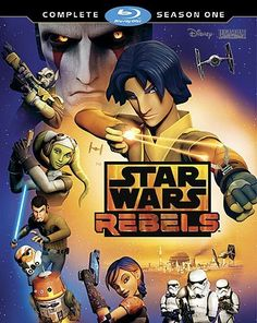 Star Wars: Rebels - Season One (TV) (2014) Blu-ray