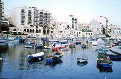 Malta - Sliema. Just 7km from Valletta Sliema is an upmarket town with plenty of shops, restaurants and cafes. Ferries can be taken from here to many of the surrounding resorts including Gozo.and Comino. Photo by Maltavista