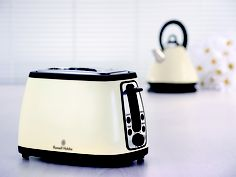 THE SUPPLY SHOPPE - Product - 18259 RUSSELL HOBBS HERITAGE CREAM TOASTER Toasters, Hobbs, Kitchen Appliances, Design, Diy Kitchen Appliances, Home Appliances, Toaster