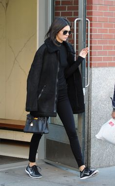 Kendall. Keep saying this but her all black outfit are perfectionn