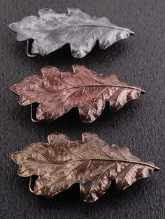 Oak Leaf Belt Buckle   Chrononaut Mercantile