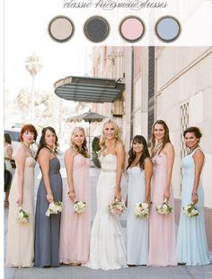 My wedding color scheme.