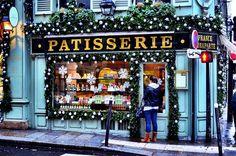 Paris shops ready for Christmas.