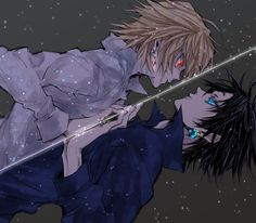 Kurapika and Chrollo - Hunter x Hunter