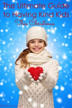 Roundup post with lots of resources for helping families focus on kindness at Christmas; perfect for character education - Bits of Positivity Christmas Activities For Kids, Kids Christmas, Kindness Projects, Christmas Characters, Character Education, Raising Kids, Our Kids, New Trends, Parenting Hacks