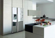 Amerikanischer Kühlschrank Freistehend : Die besten bilder von amerikanischer side by side kühlschränke
