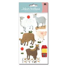 Jolee's Boutique® | Petting Zoo Stickers  $5.49