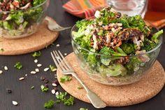 Sweet + Creamy Broccoli Salad   Healthful Pursuit #keto #highfat #lowcarb