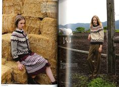 Traditional Knitting Ireland Lopi Sweaters and More от pomadour24
