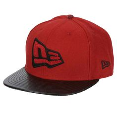 447633bc54582 Gorra New Era Flag Letterman 9Fifty Snapback Scarlet Gorra New Era