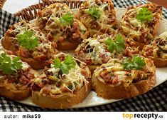 Bread Baking, Starters, Finger Foods, Baked Potato, Hamburger, Sandwiches, Toast, Food And Drink, Pizza