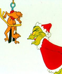 Max and the Grinch!
