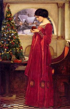 Christmas...long ago. Isn't this just amazingly beautiful? wow.