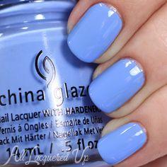 China Glaze Boho Blues Spring 2015 via @alllacqueredup