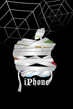 Image result for halloween apple logo wallpaper iphone 6