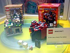 New lego minecraft sets!