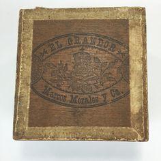 Vintage Wooden Cigar Box, Vintage Philadelphia PA Box George Harris & Sons Litho  | eBay