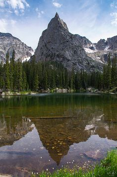 Lone Eagle Peak, Indian Peaks WIlderness, Colorado  Mountain photography by Aaron Spong  http://aaron-spong.artistwebsites.com/featured/lone-eagle-peak--vertical-aaron-spong.html