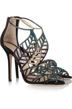 Pick Jimmy Choo shoes and take it home immediately.$166.♥♥♥