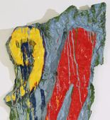 Claes Oldenburg. Red Tights with Fragment 9. April 1961